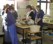 One of two Home Economics Rooms